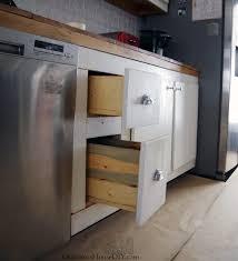 lower kitchen cabinet storage ideas adding side out storage solutions to my lower kitchen cabinets