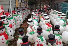 lighted plastic christmas yard decorations alluring blown plastic christmas yard decorations pretentious