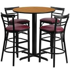 Break Room Table And Chairs by Restaurant Lunchroom And Breakroom Bar Cafe U0026 Bistro Tables