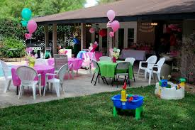 Decoration Ideas For Birthday Party At Home Backyard Decorating Ideas For Parties Home Outdoor Decoration