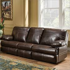 Sofa Queen Sleeper 50981 Miracle Saddle Bonded Leather Queen Sleeper Sofa By Simmons