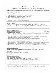 job resume sles for network technician confortable network tech resume exles also pc technician sle