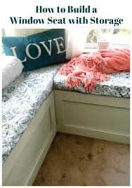 Build A Window Seat - how to build window seats with storage create and babble