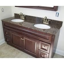Granite Top Bathroom Vanity by 60 X 21 Heritage Cherry Bathroom Vanity U0026 61 X 22 Granite Top By
