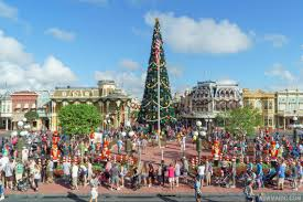 photos holidays get underway at the magic kingdom complete with