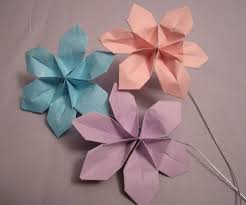 super easy paper flowers for 2 4 steps with pictures