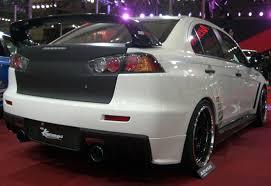 mitsubishi evo spoiler oem style carbon fiber rear spoiler for 2008 2010 mitsubishi lancer