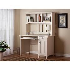 Cream Desk With Hutch Amazon Com Salinas Mission Style Desk With Hutch In Antique White