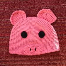 Kids Pig Halloween Costume 30 Piggy Hat Images Crochet Pig Pigs