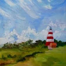 Impressionist Landscape Painting by 16 X 20 Fine Art Original Oil Painting Impressionist Beach