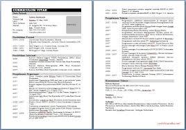 form daftar riwayat hidup pdf download contoh cv daftar riwayat hidup terlengkap ms word sayaaja