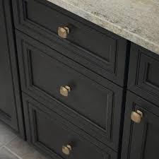 home depot kitchen cabinet hardware pulls mandara 1 1 4 in 32mm chagne bronze square cabinet knob