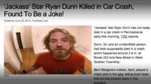 star ryan dunn dies in car accident