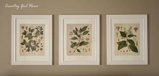 Free Printable Bathroom Art Country Home Free Botanical Printable Art