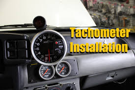 autometer monster tach light bulb how to install a tach tachometer installation autometer greddy