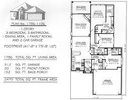 house plans 3 bedroom 1701 2200 sq 3 bedroom house plans