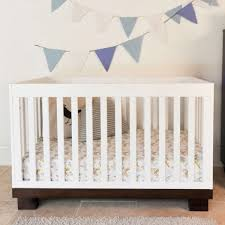 Babyletto Modo 3 In 1 Convertible Crib With Toddler Rail by Modern Babyletto Modo 3 In 1 Two Tone Baby Crib M6701qw Free Shipping