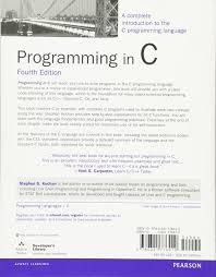 programming in c 4th edition amazon ca stephen g kochan books
