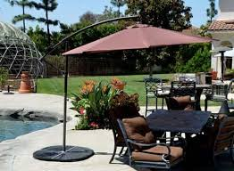 offset solar patio umbrella coffee 10 u0027quality patio umbrellas