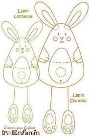 felt rabbit pattern google search easter pinterest rabbit