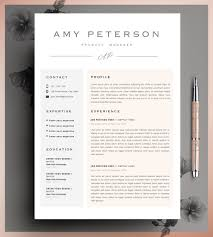 Photo Resume Template Free Creative Resume Template Cv Template Instant By Cvdesignco On Etsy