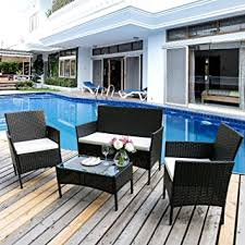 Leisure ZoneGarden Furniture Set Patio Furniture Set Rattan - Home and leisure furniture