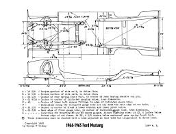 mustang frame measurement chart vintage mustang forums