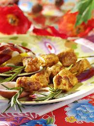 poulet cuisine recette brochettes de poulet mariné au paprika cuisine madame