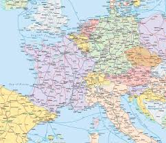 rail europe map tips for taking trains in europe trainline