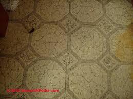 how do you identify asbestos floor tiles carpet vidalondon
