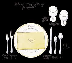 Informal Table Setting by How To