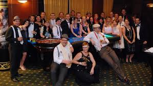 1920s great gatsby prohibition casino party
