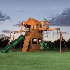 Backyard Adventures Price List Backyard Discovery Skyfort Ii Cedar Swing Set Play Set Sam U0027s Club