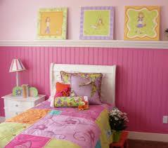 Bedroom Paint Ideas Floral Pattern White Purple Colors Plush Carpet Girls Bedroom