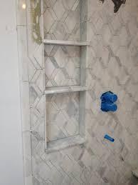 Home Depot Bathroom Shelves by Bathroom How To Build Recessed Shower Shelf For Your Bathrooms