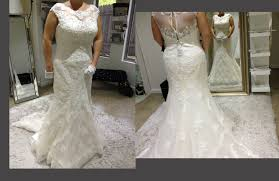 plus size fit and flare wedding dress size in fit and flare lace wedding dress