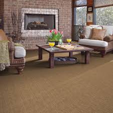 chic shaw flooring in family room traditional with sisal looking