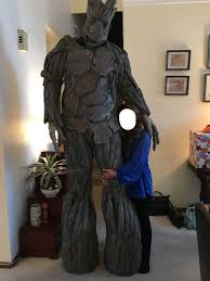 groot costume an incredibly realistic sized groot costume neatorama