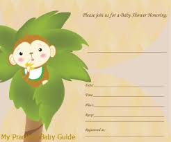 baby shower monkey monkey baby shower theme ideas my practical baby shower guide