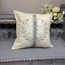 Shabby Chic Cushions Uk by Fabric Painting Shabby Chic Pillow Or Seat Cushion Evening