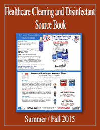 healthcare cleaning and disinfectant source book by federal buyers