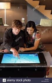Touch Screen Coffee Table by Table Top Computer Microsoft Has Built A New Touch Screen Computer