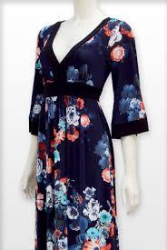 red apparel poppy flower maxi kimono dress red apparel online