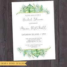 baby shower save the date tropical invitation customised for any occasion birthday party