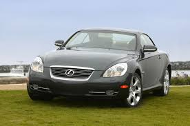 convertible lexus hardtop 2008 lexus sc 430 pebble beach edition