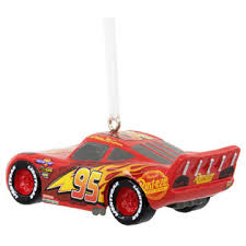 disney pixar cars lightning mcqueen ornament