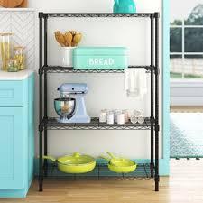 kitchen wall cabinet load capacity charlette 54 h x 36 w x 14 d 4 shelf shelving unit