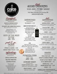 Cake Order Breakfast U0026 Lunch U2013 Cake Shop Cafe