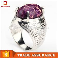 new stone rings images Chinese manufacturers fashion new gold one stone silver ring jpg