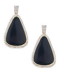 danglers earrings design buy voylla pair of geometric design dangler earrings with cz and